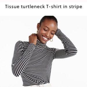J Crew tissue turtleneck